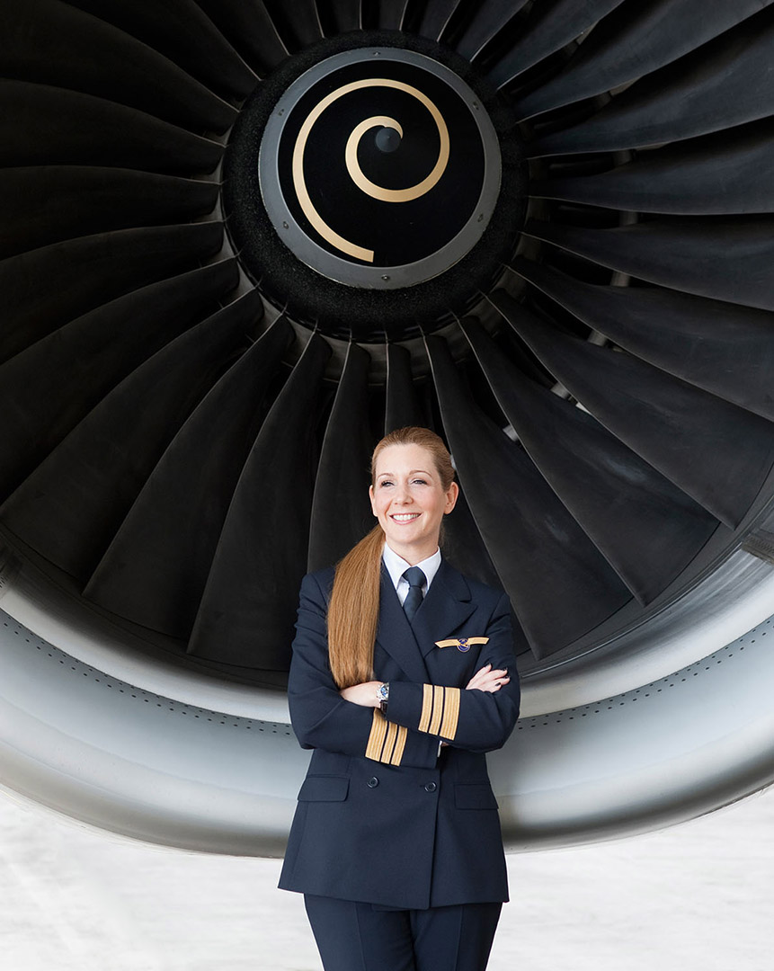 Kerstin Felser, Pilotin