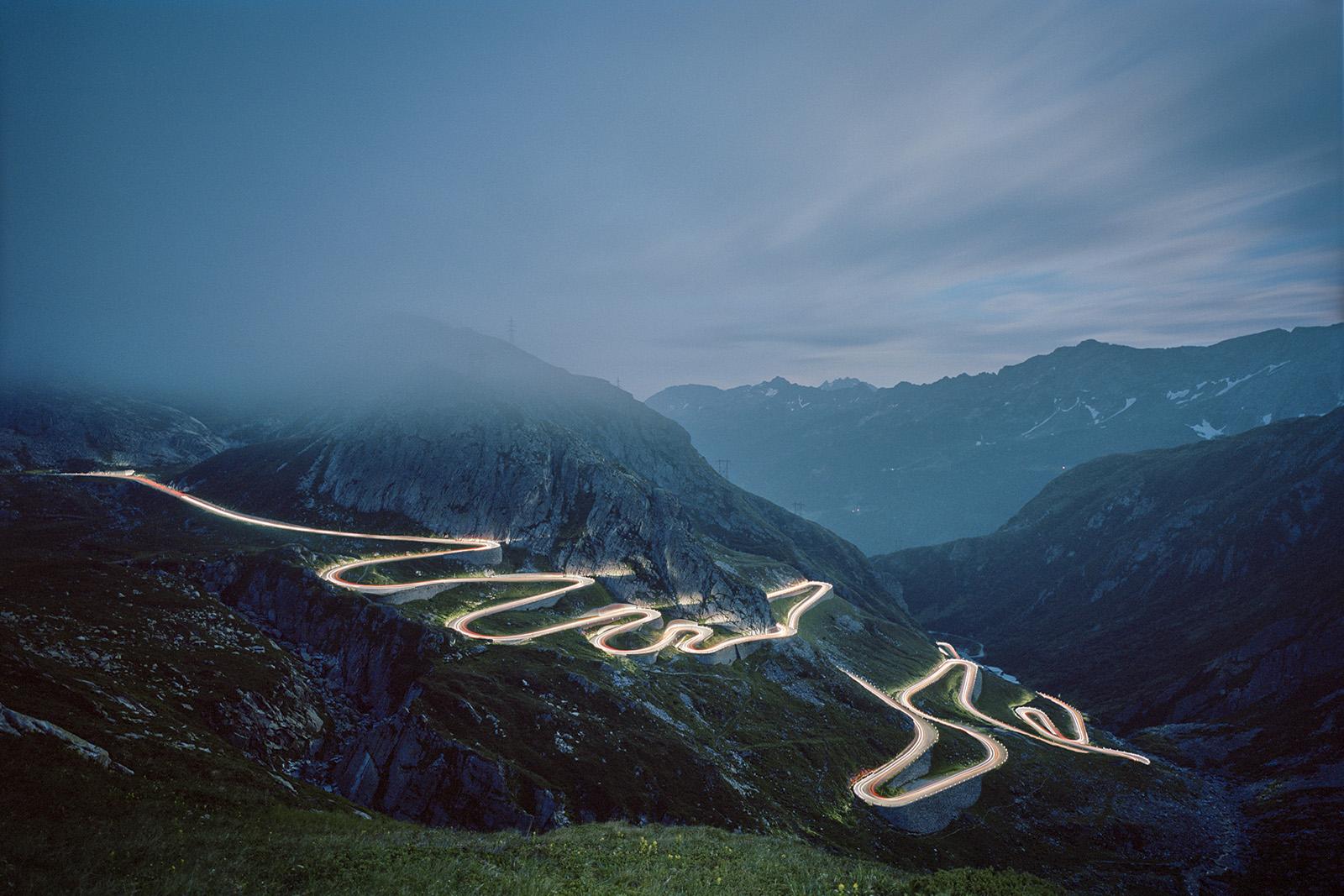 Val Tremola am Gotthardpass