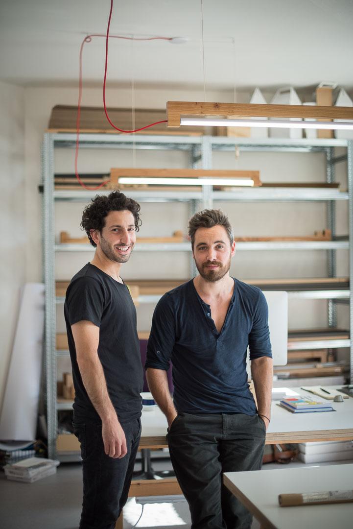 Maarten Heijltjes und Simon Akkaya, Produktdesigner Waarmakers