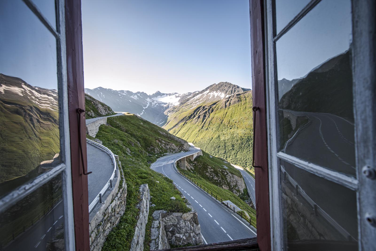 Blick aus dem Hotel Belvedere