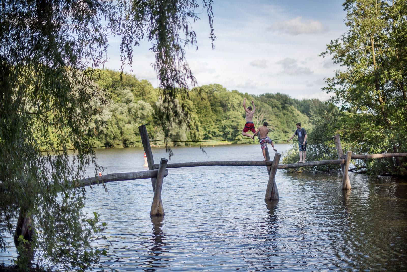 Badevergnügen im Amstelpark