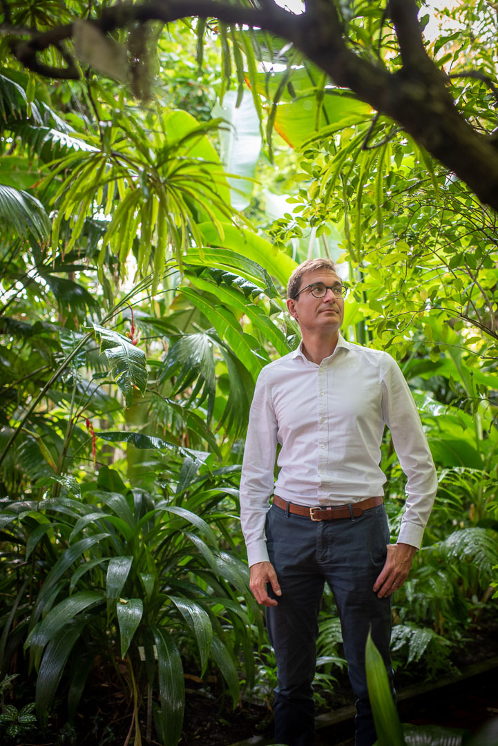 Prof. Dr. Tobias Erb, Mikrobiologe, Direktor am Marburger Max-Planck-Institut