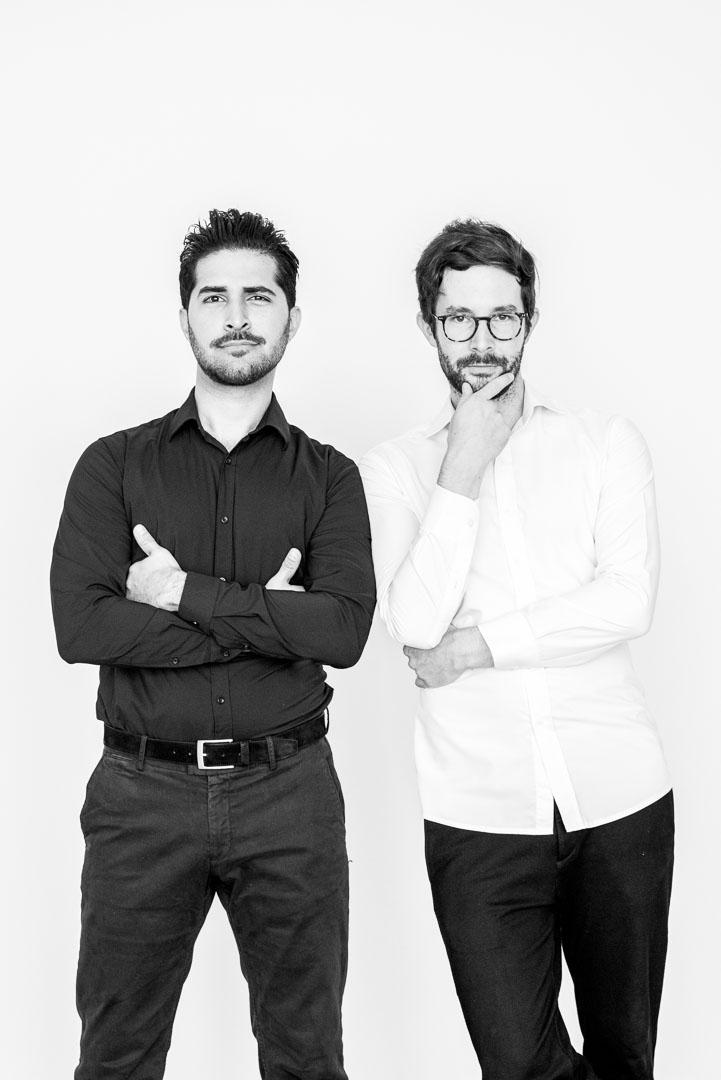 Shahin Farahzadi und Gerrit Hoppe, Leitungsteam Formitas