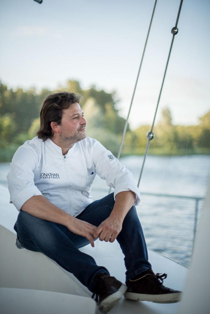Jonathan Karpathios, Gourmetkoch