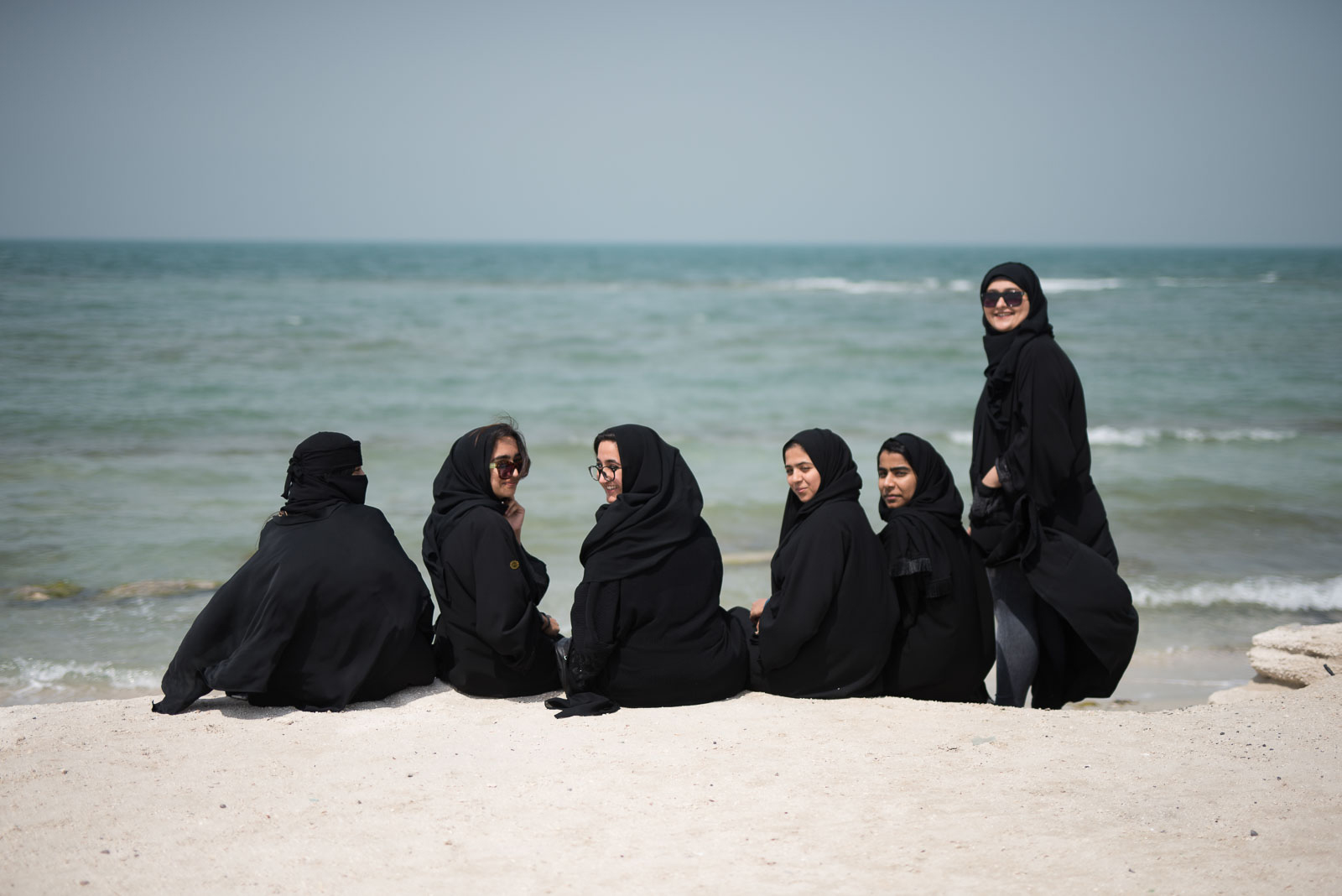 Muslimische Studentinnen
