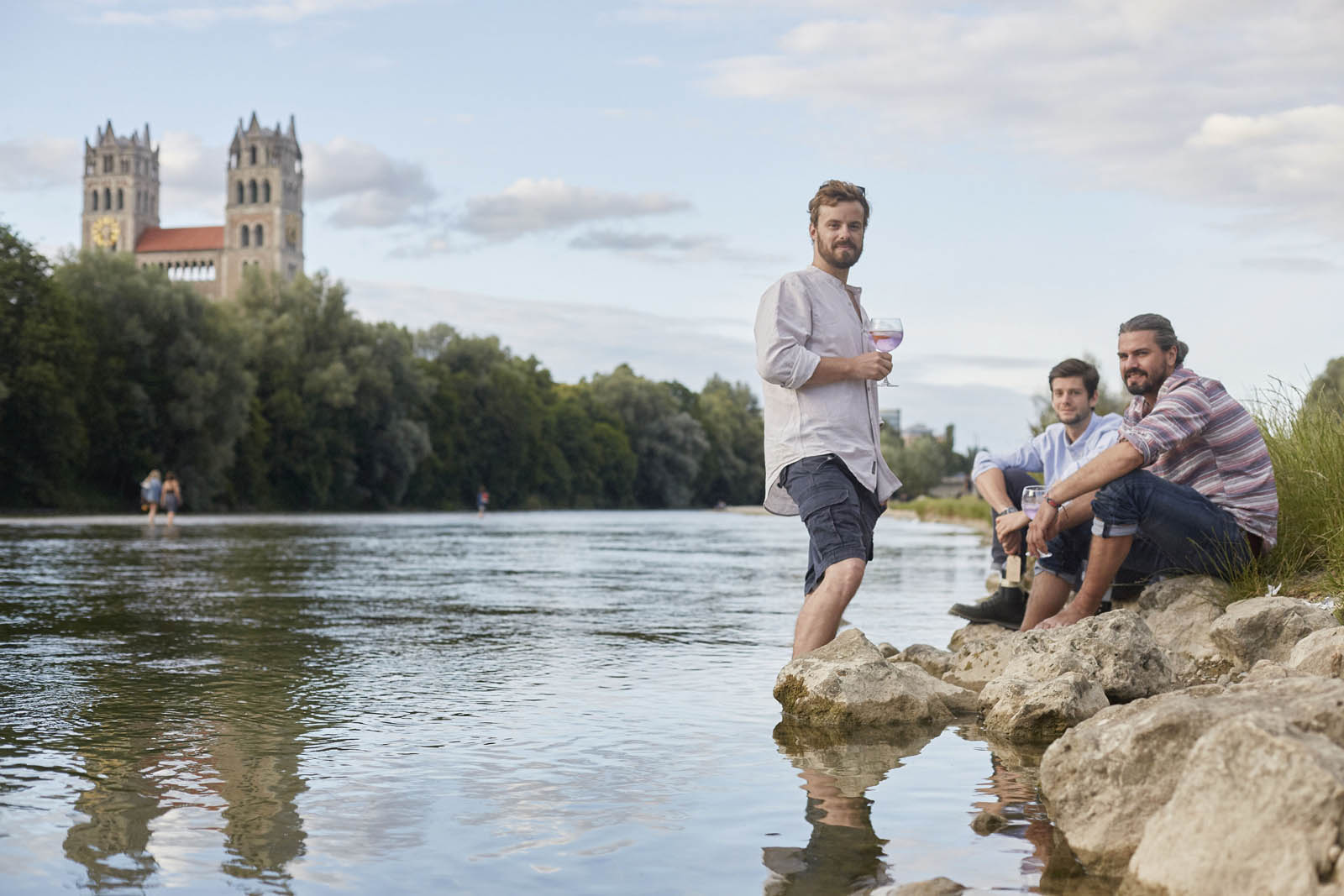 Tim Steglich, Maximilian Muggenthaler und Till Sonderhoff, Gin Destiller