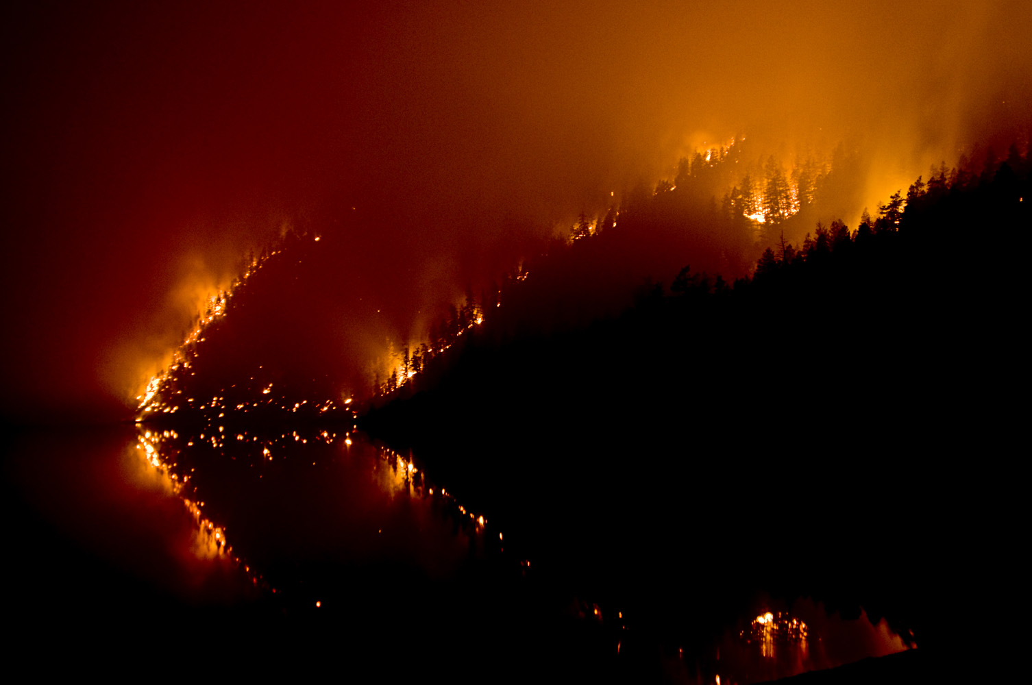 Forest-fire in British Columbia