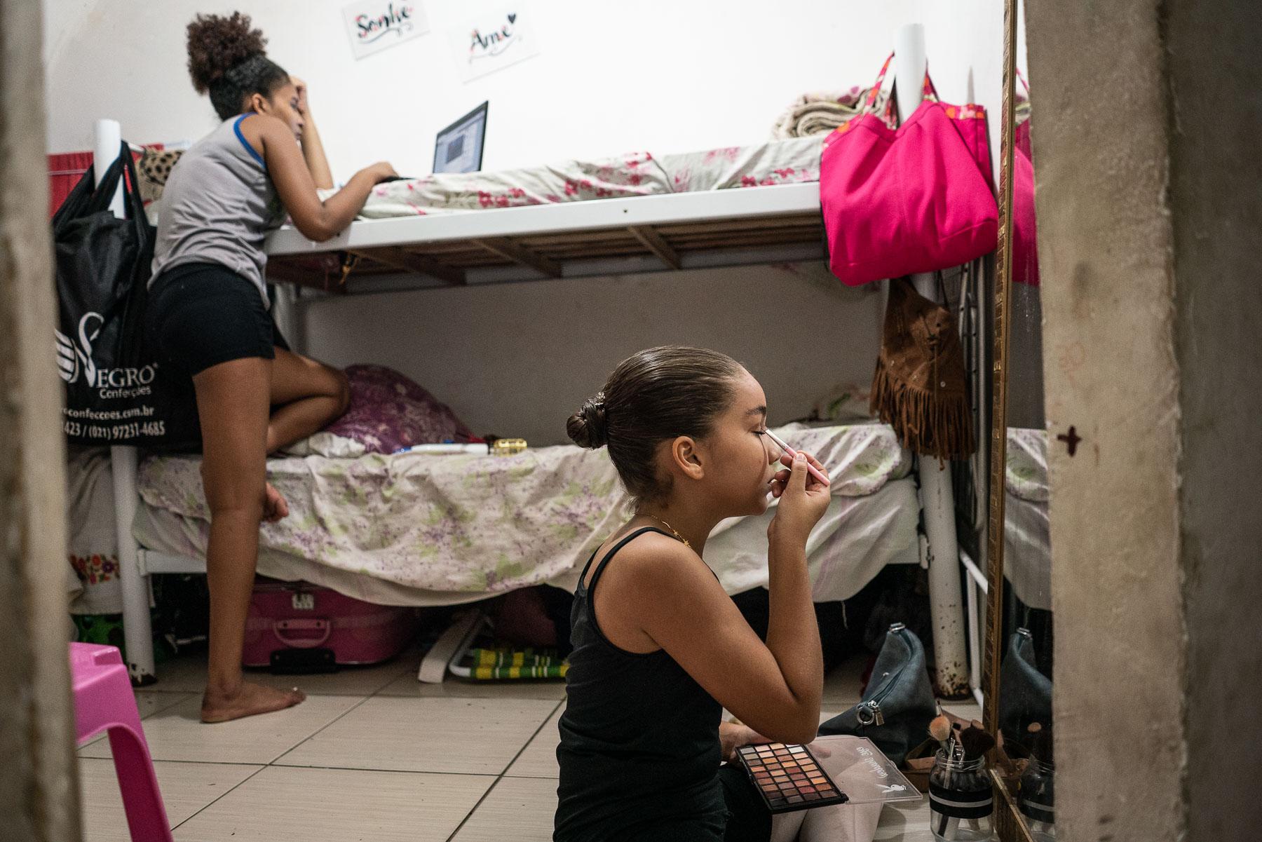 Maysa Aben-Athar, Top Student of Ballet Manguinhos