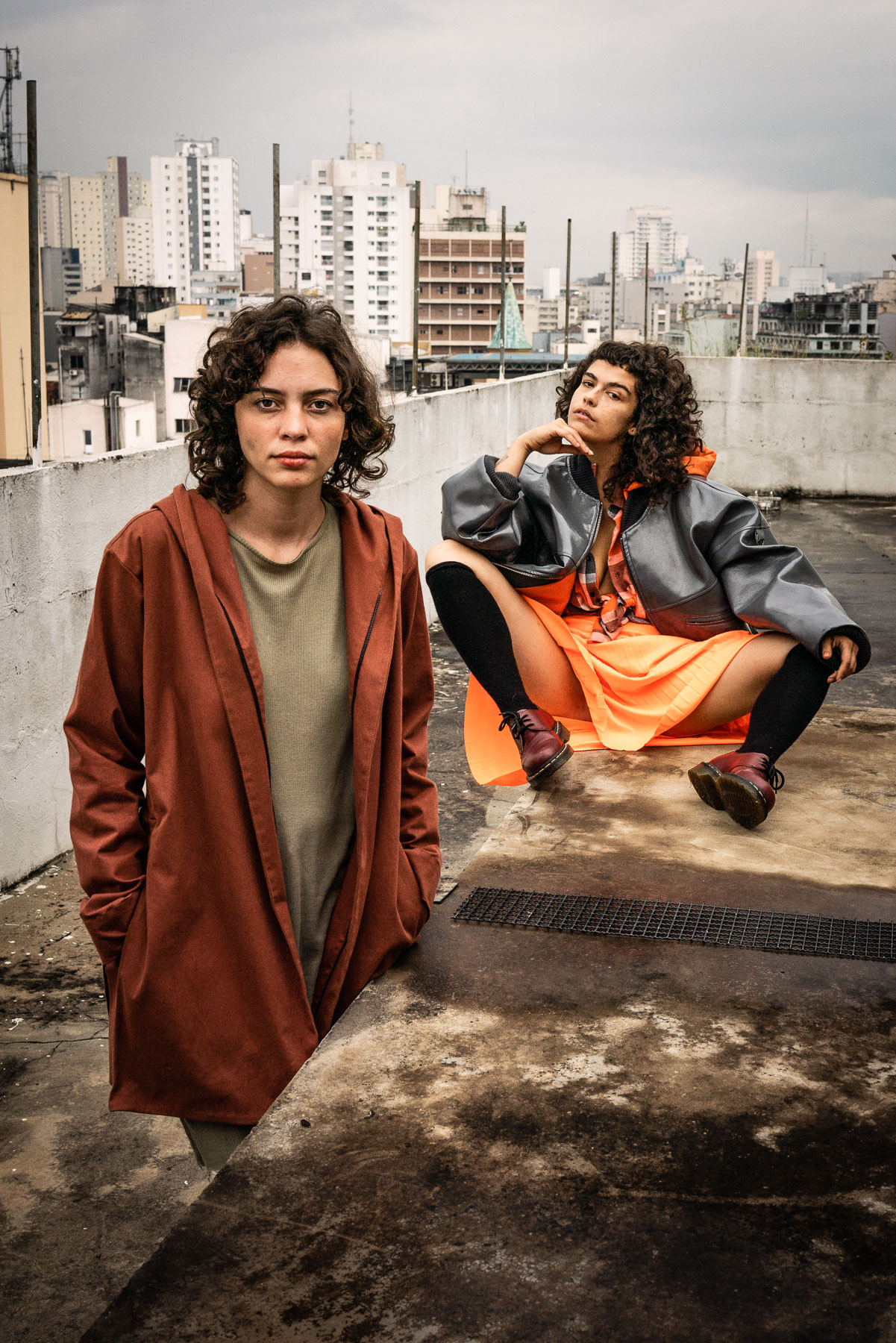 Carol Schutzer (DJ Cashu) und Laura Dias