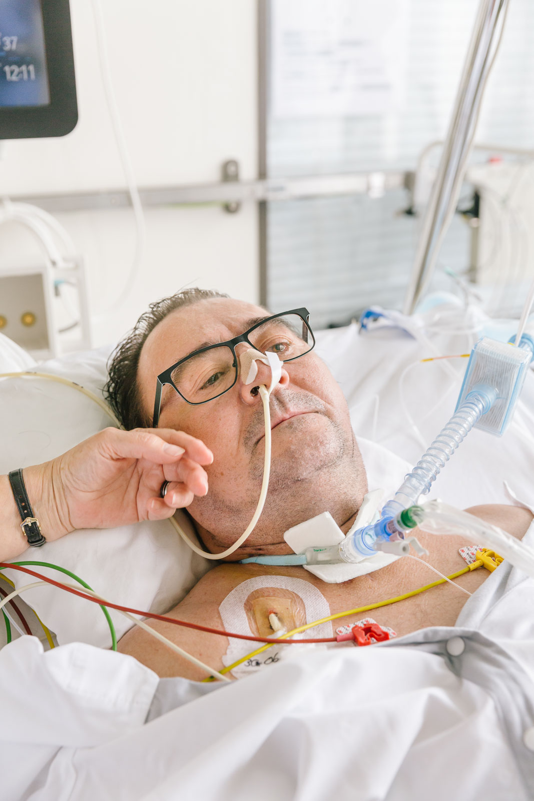 Herr H., COVID19-Patient