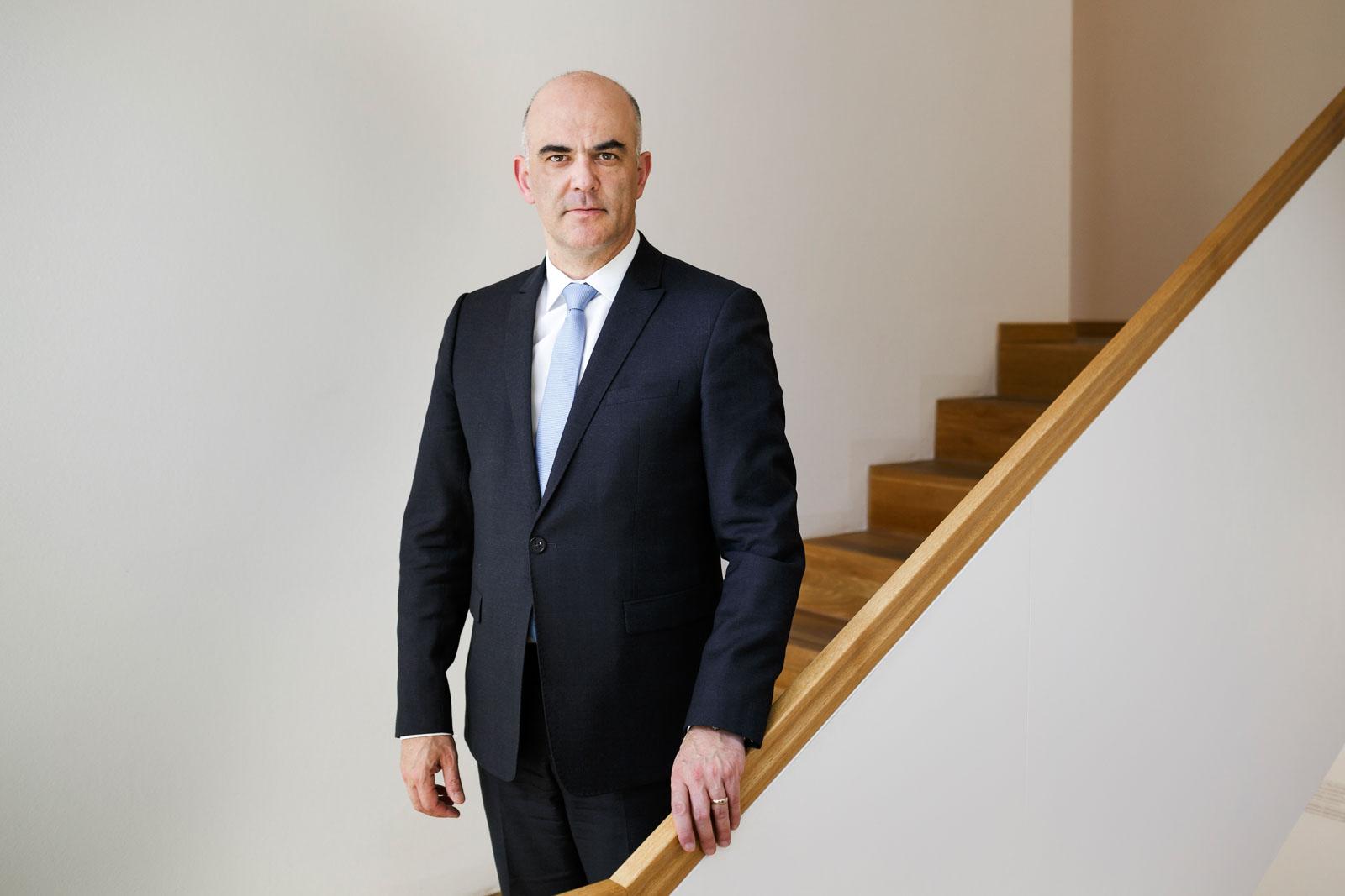 Alain Berset, Schweizer Bundespräsident