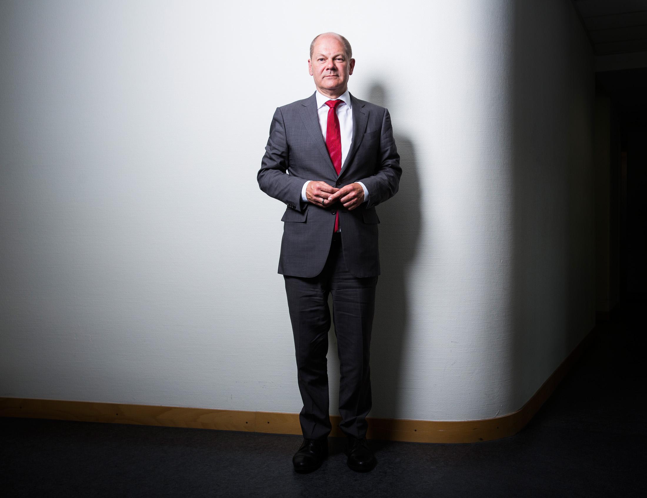 Olaf Scholz, Vizekanzler und Finanzminister