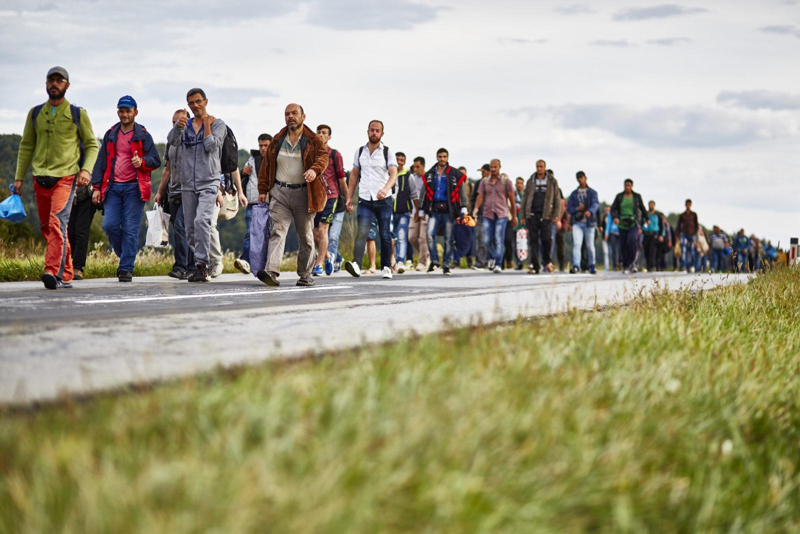 """Flucht über die """"Balkan-Route"""""""