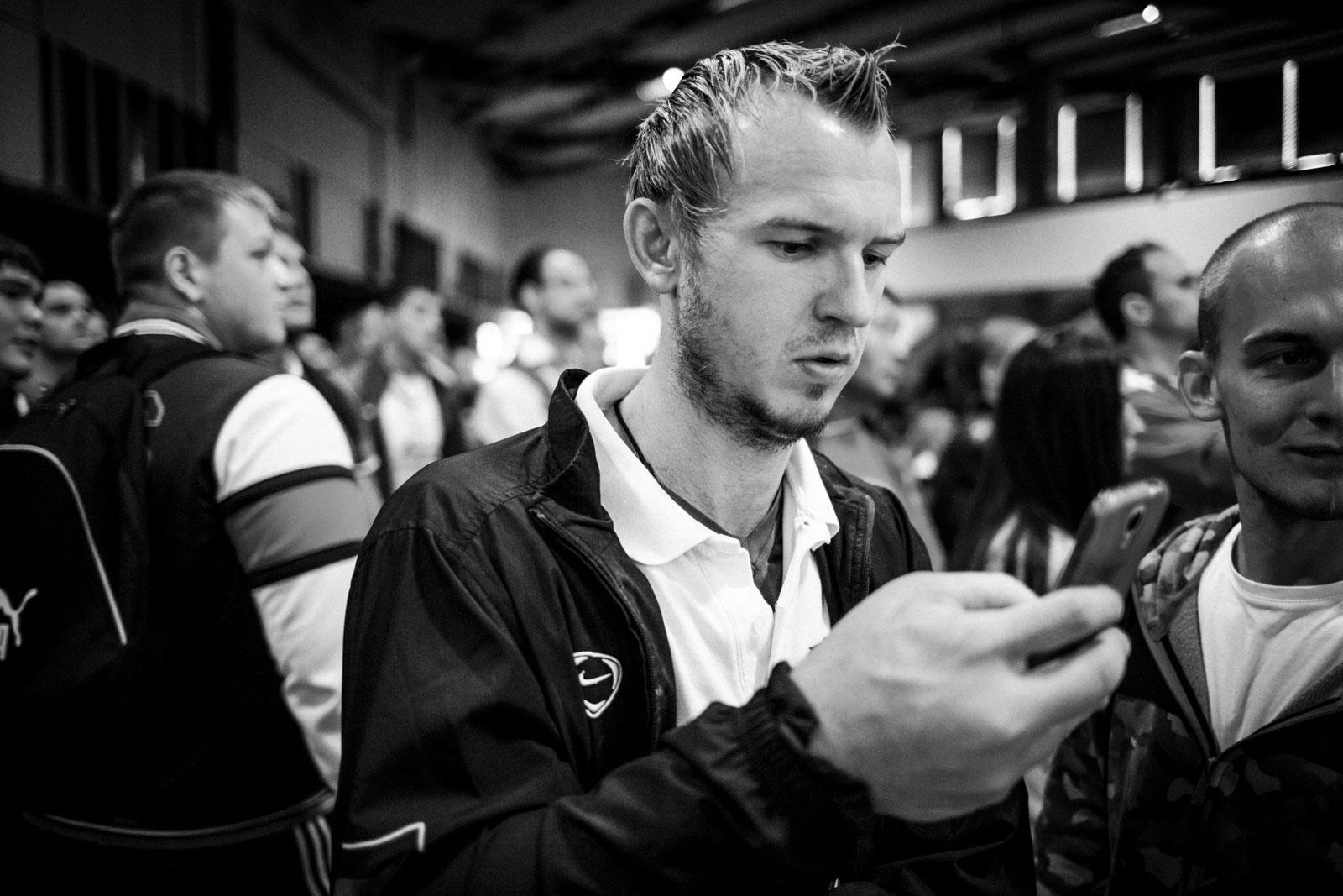 Matthias Schlitte kurz nach der Niederlage