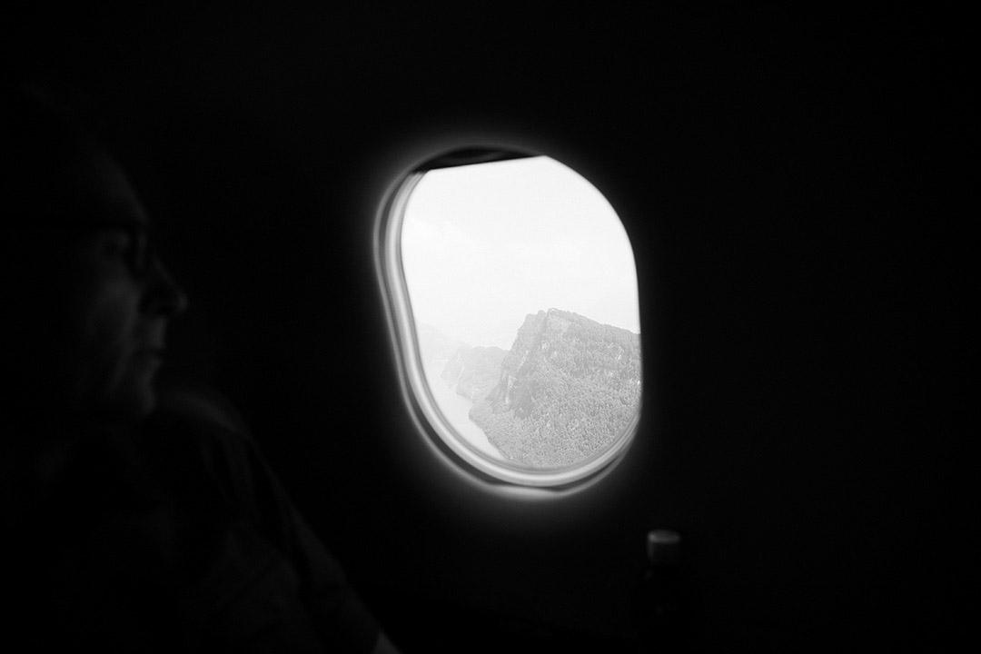 Erfahrener Pilot in Bettermanns Flugzeug