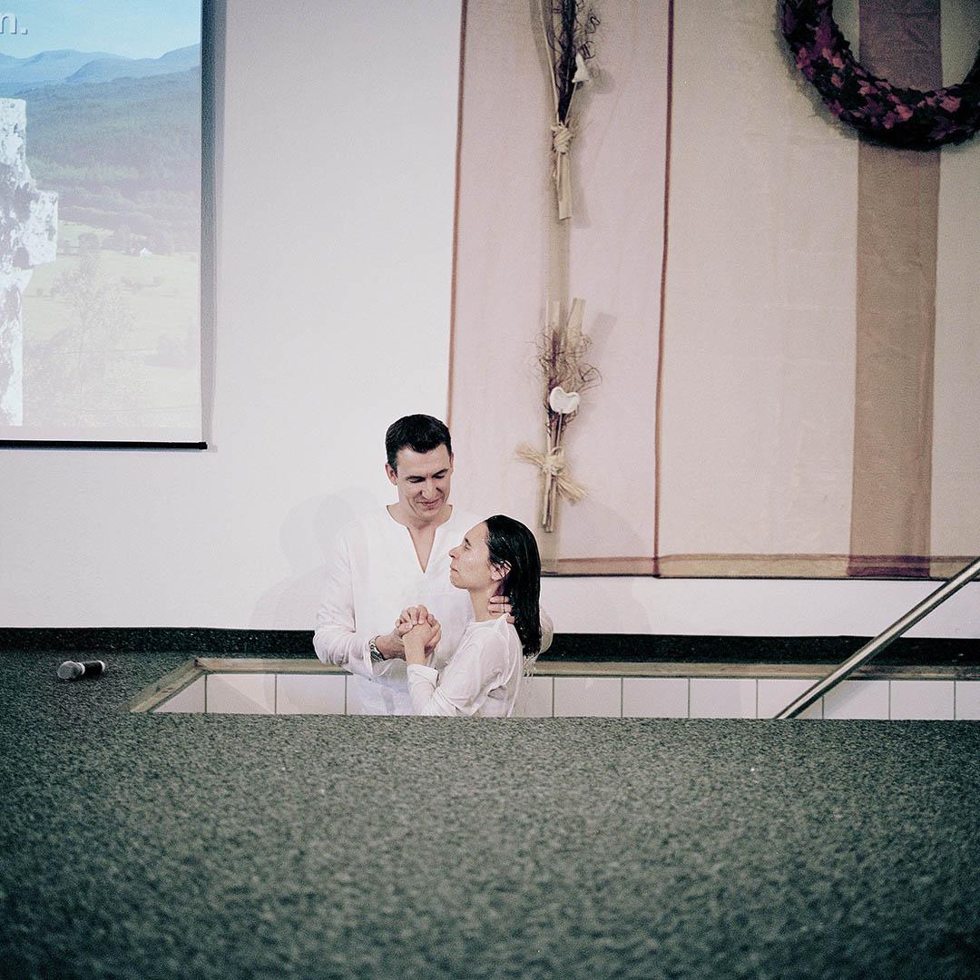 Taufe der Evangelisch-Freikirchlichen Gemeinde