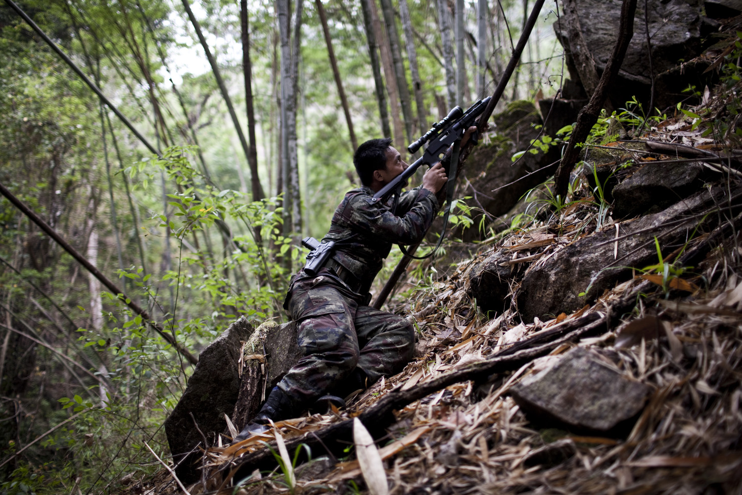Soldier of the KNLA