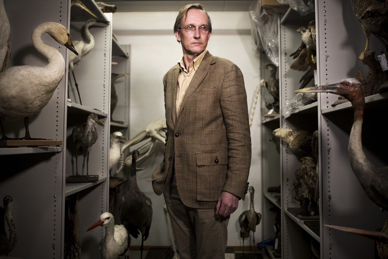 Kees Moeliker, Biologe und Direktor des Naturhistorischen Museums