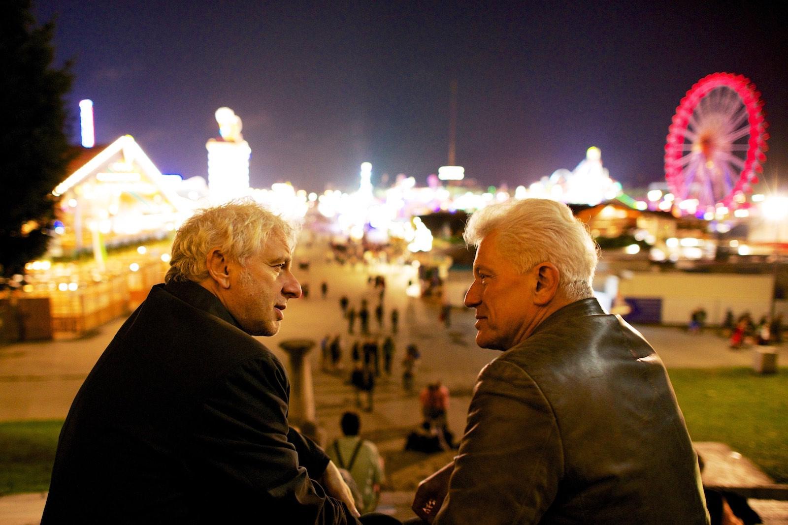 Udo Wachtveitel und Miroslav Nemec, Schauspieler