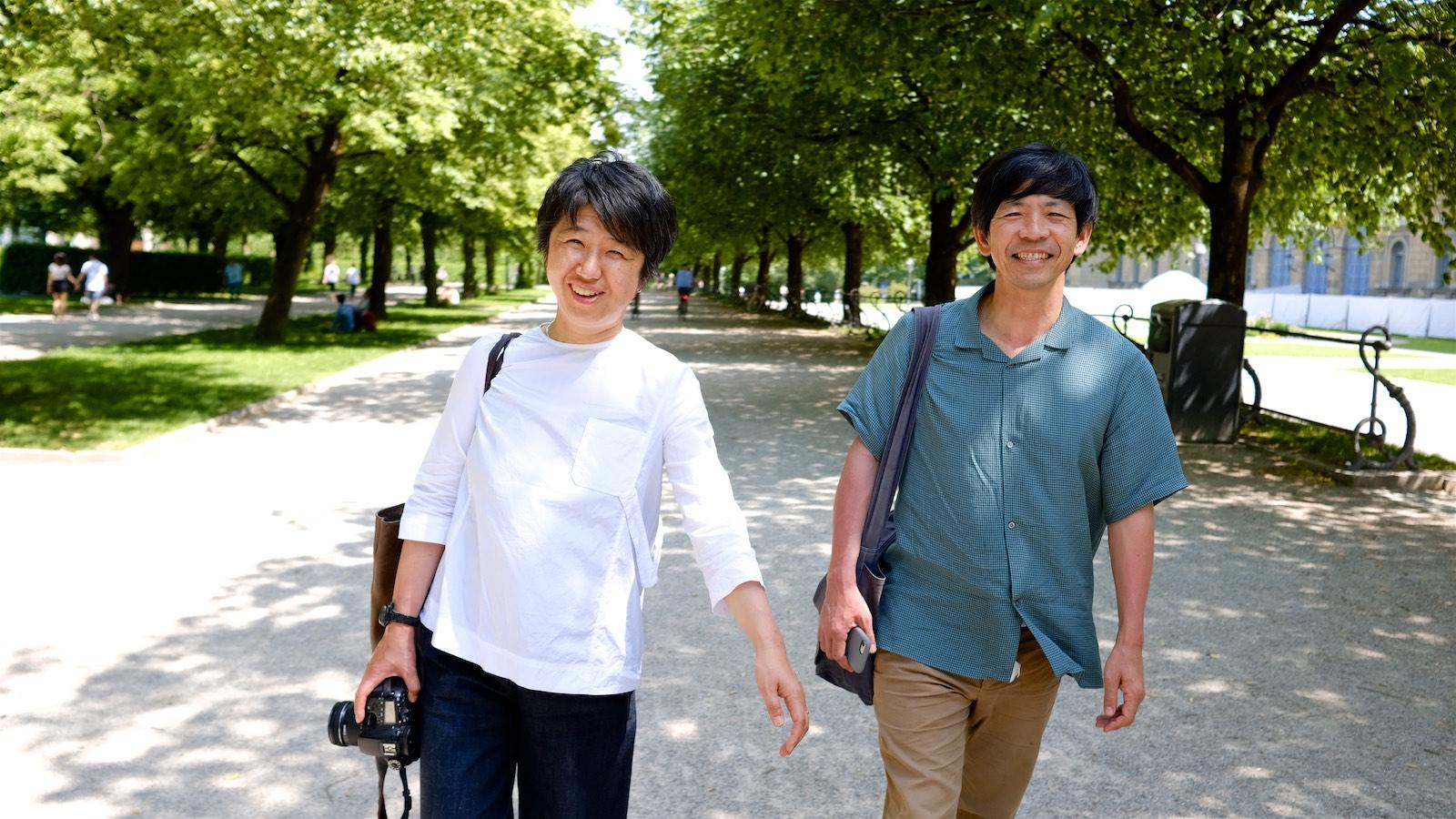 Momoyo Kaijima, Architektin und Yoshiharu Tsukamoto, Architekt