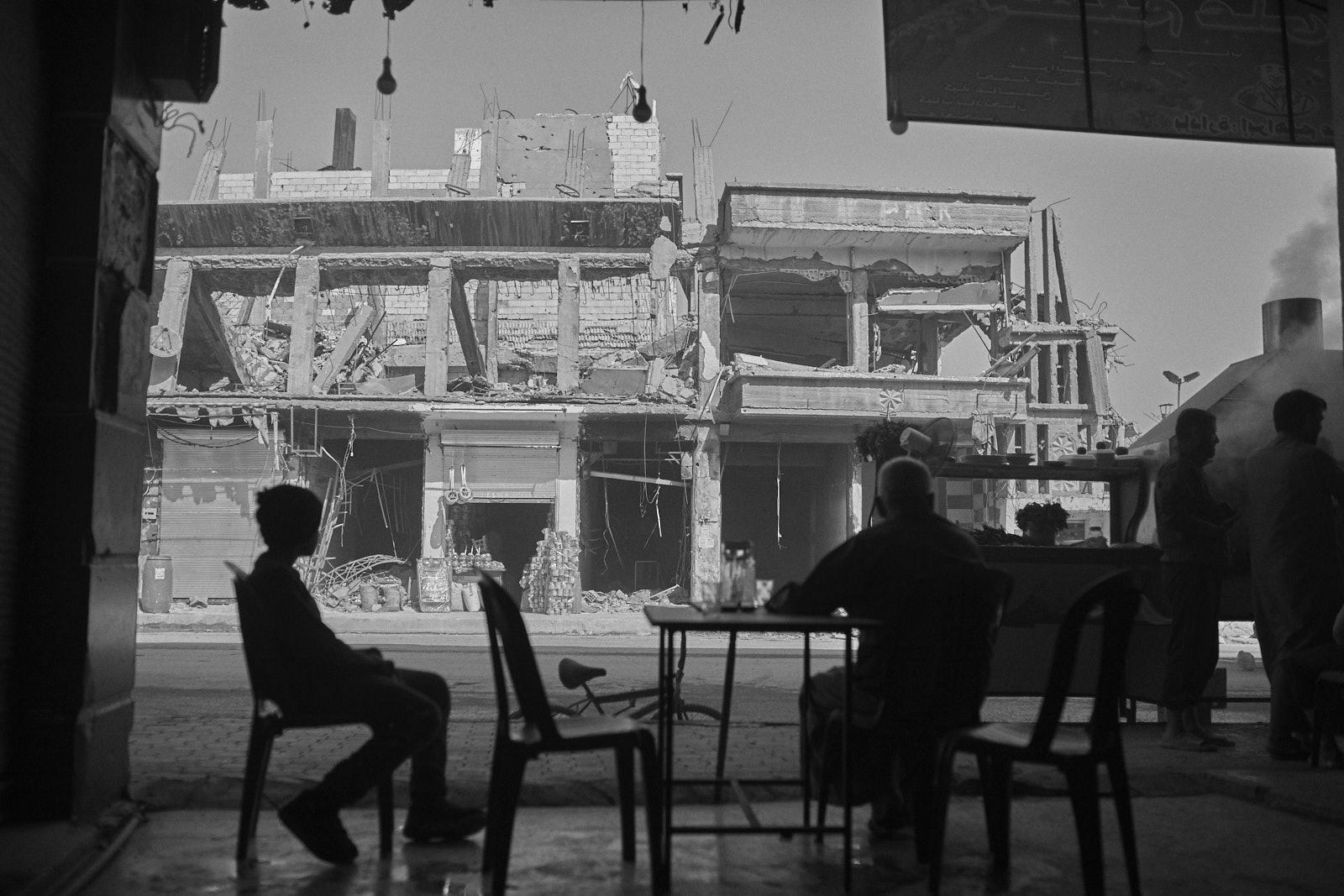 Raqqa, eine zerstörte Stadt