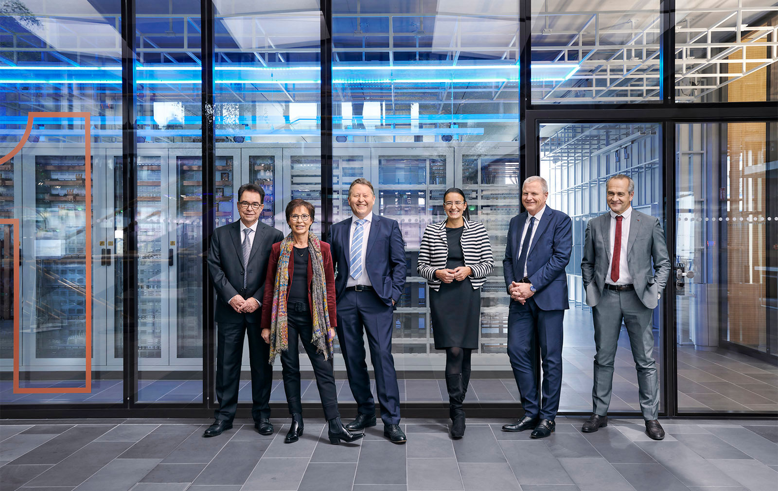 Gruppenfoto vom Aufsichtsrat der HAGER SE Location: Hager Forum
