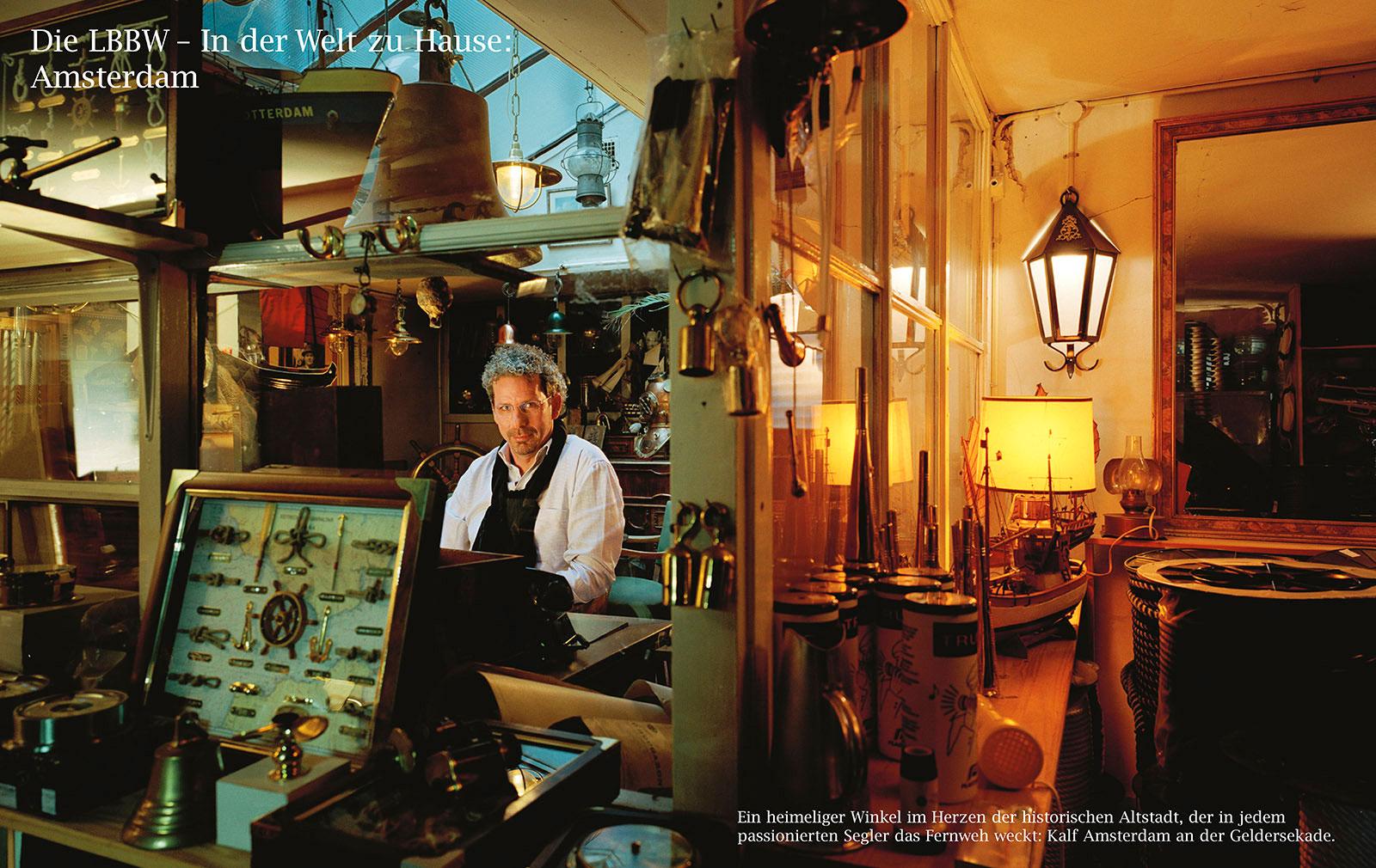 Portrait von Herrn Karel Altena, Finanzexperte in dem Geschäft