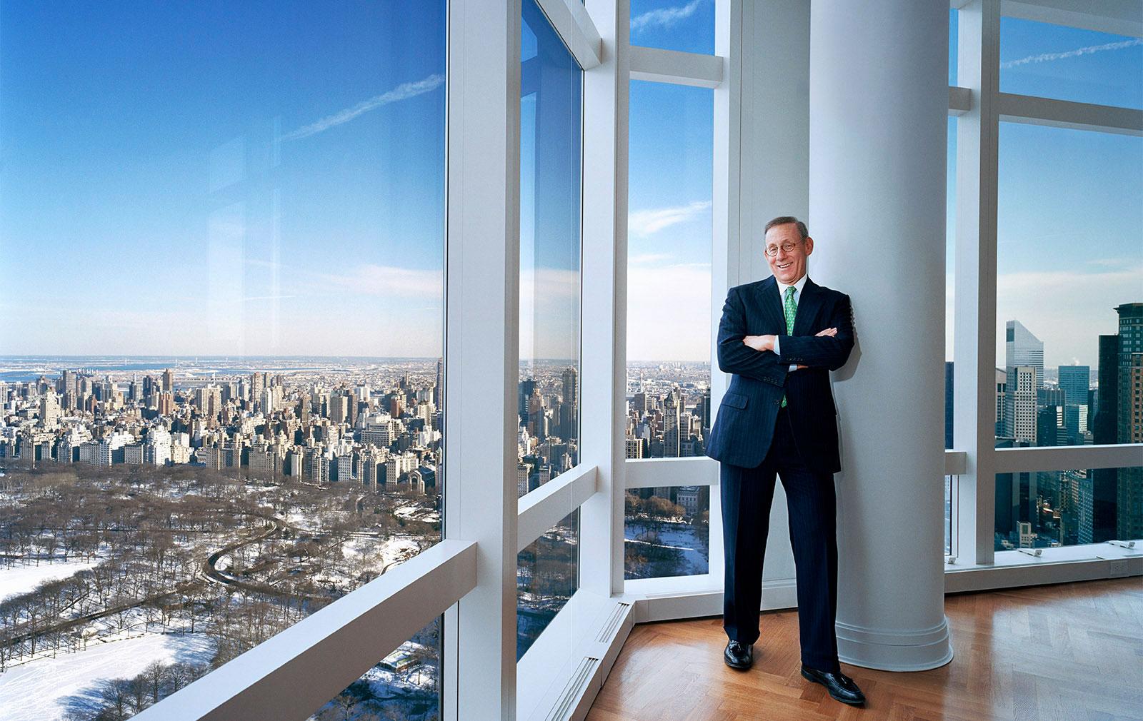 Portrait von Herr Stephen M. Ross, Unternehmer, Immobilienentwic