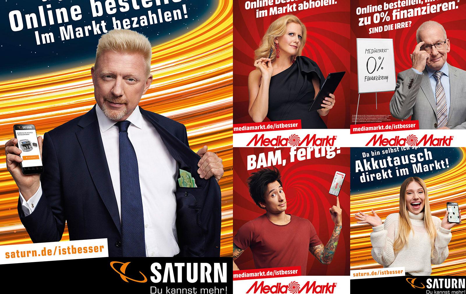 Kampagne von MEDIAMARKT SATURN