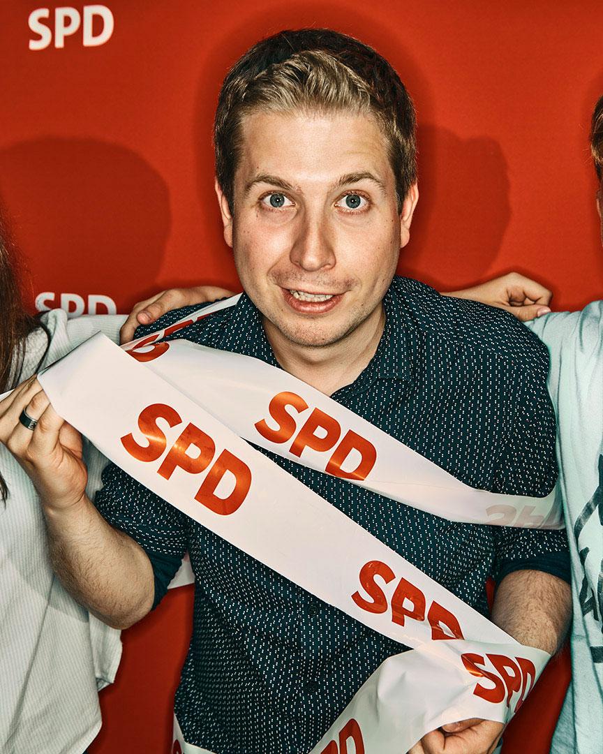 Fototermin | Portrait von dem Politiker der SPD, Herrn Kevin Kü