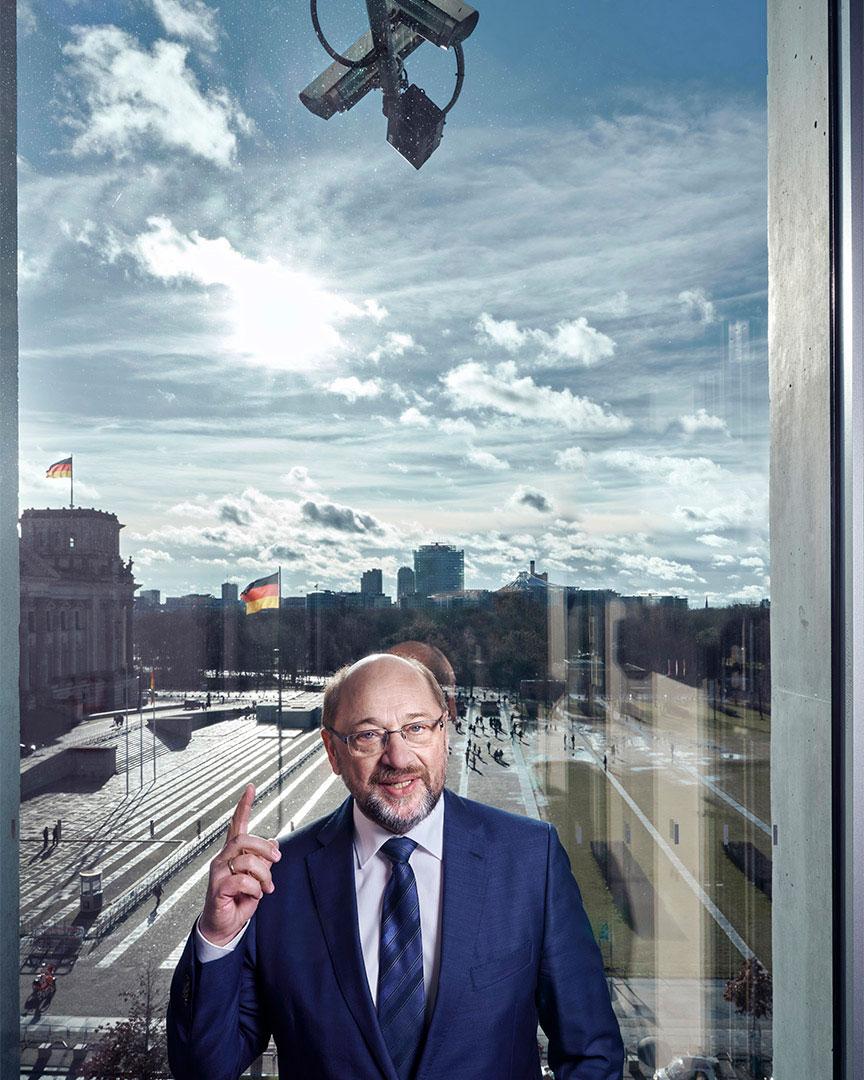 Fototermin | Portrait von dem Politiker der SPD, Herrn Martin Sc
