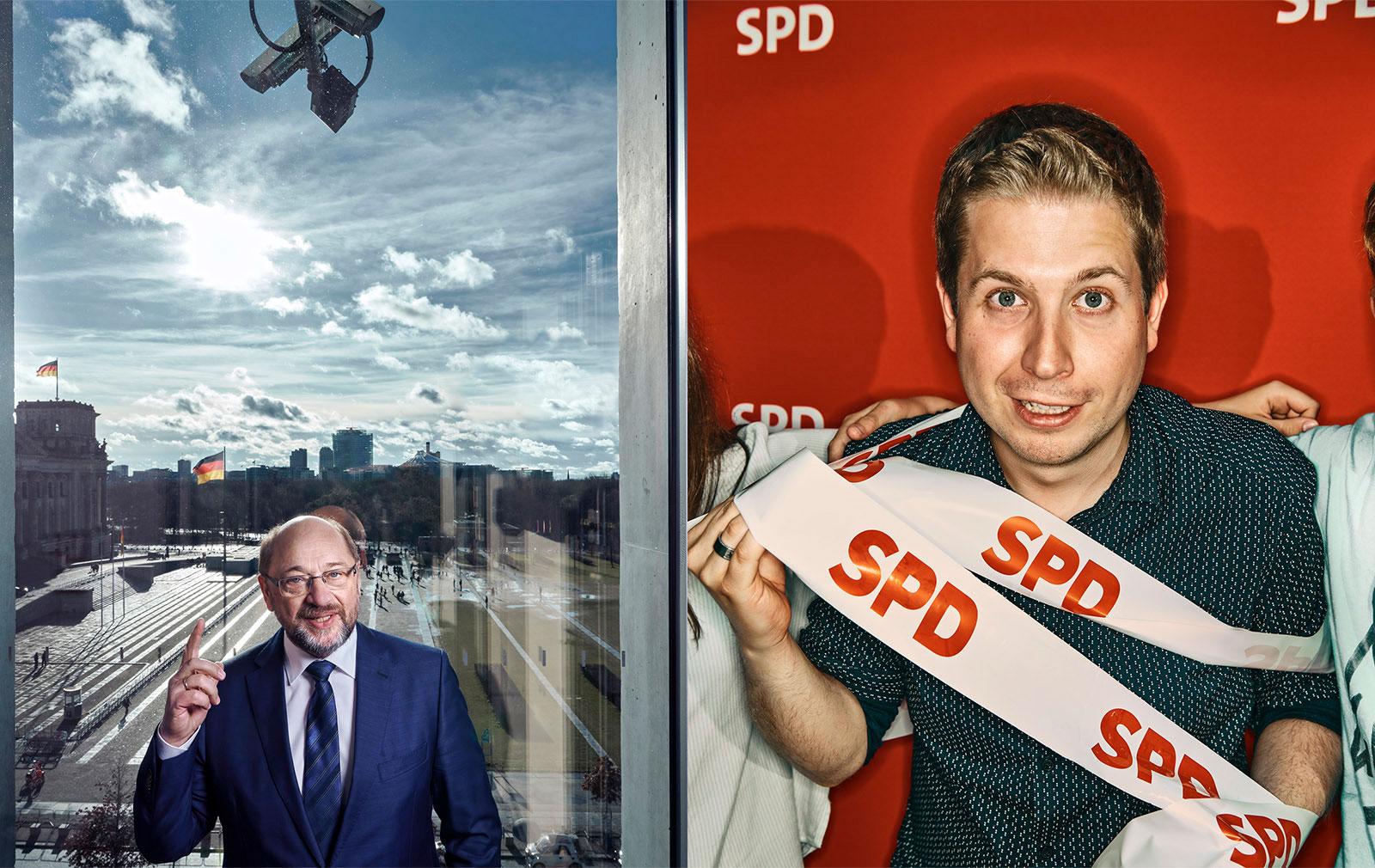 Fototermin | Portraits von den Politikern der SPD, Martin Schulz