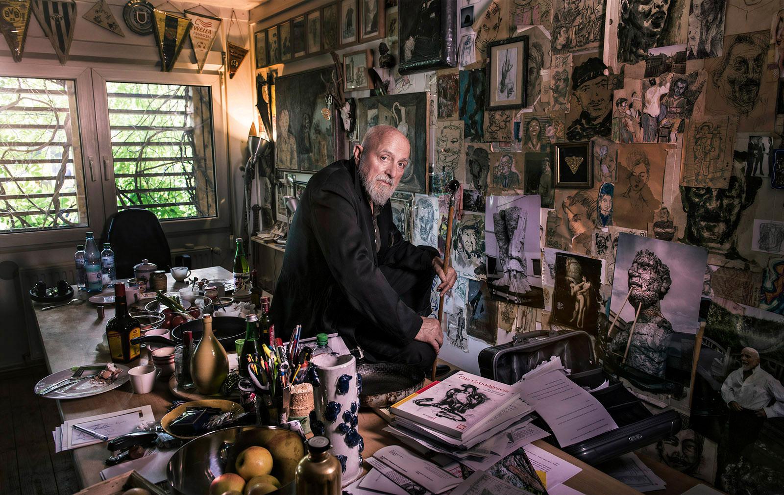 Markus Lüpertz, Maler, Grafiker und Bildhauer
