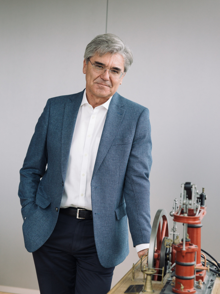 Joe Kaeser, CEO Siemens