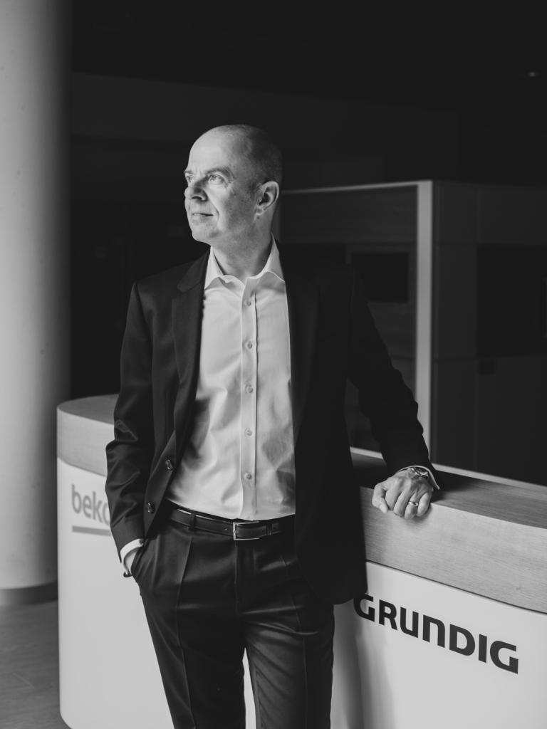 Mario Vogl, Vorstand Grundig