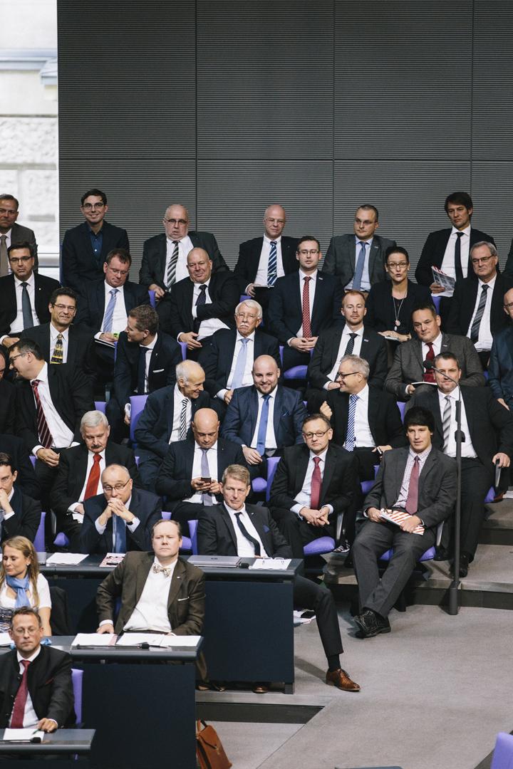 Konstituierende Sitzung des Bundestages 2017