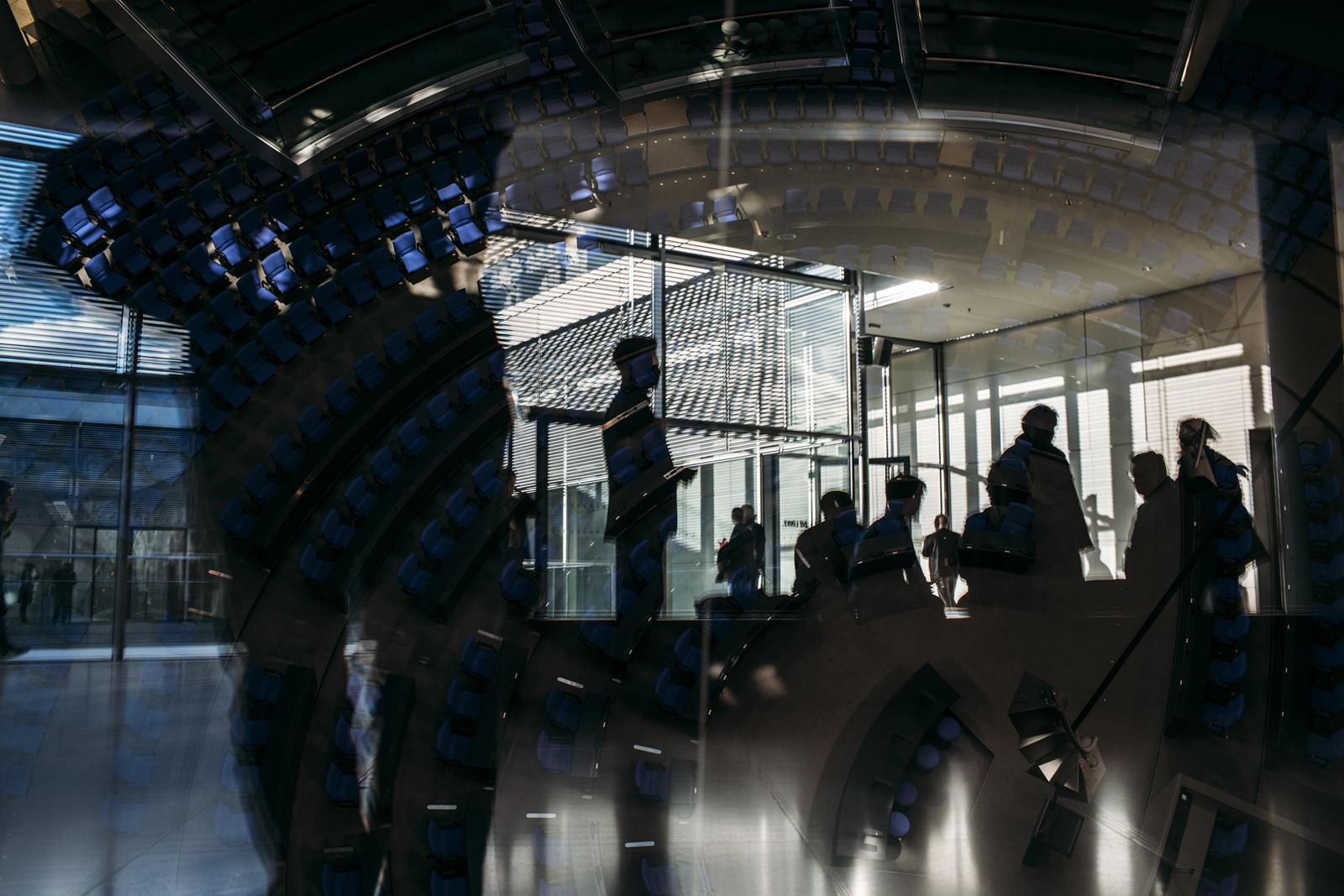 Sitzungspause im Bundestag