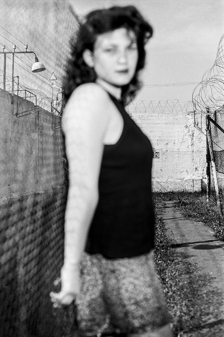 Lucia, Neuankömmling in einem Frauengefängnis