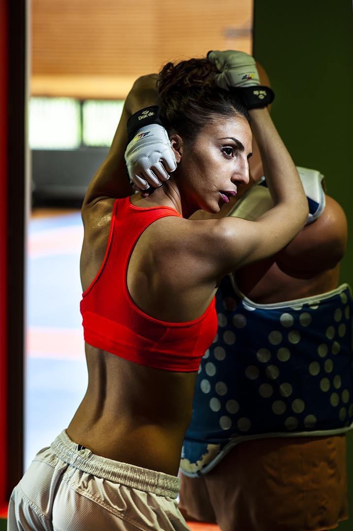Yasmina Aziez, französische Taekwondokämpferin