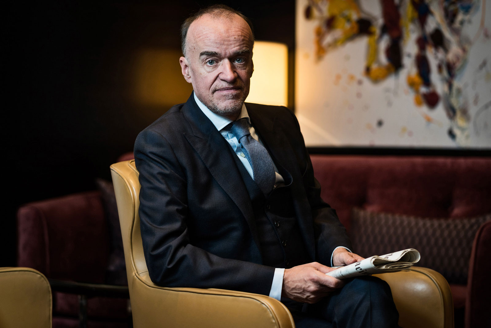 Lenny Fischer, Bankier