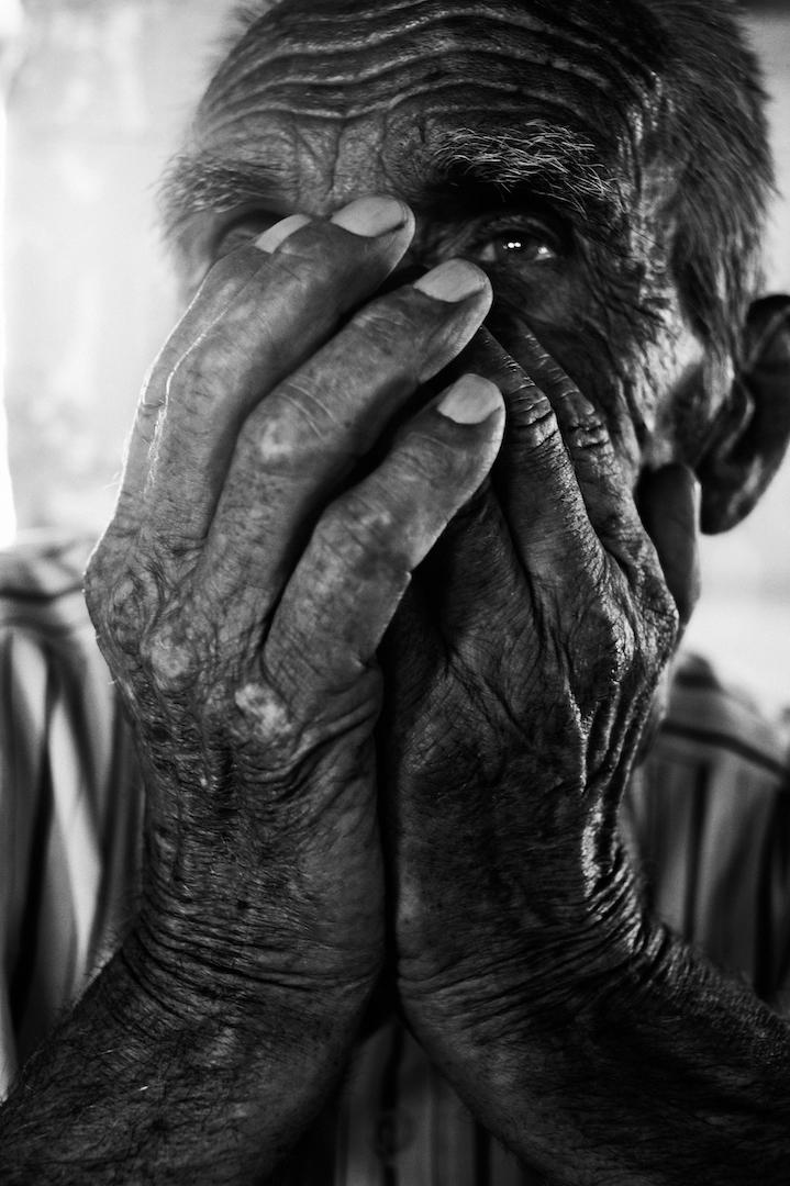 Ahmo Hasic, Überlebender des Genozids in Srebrenica