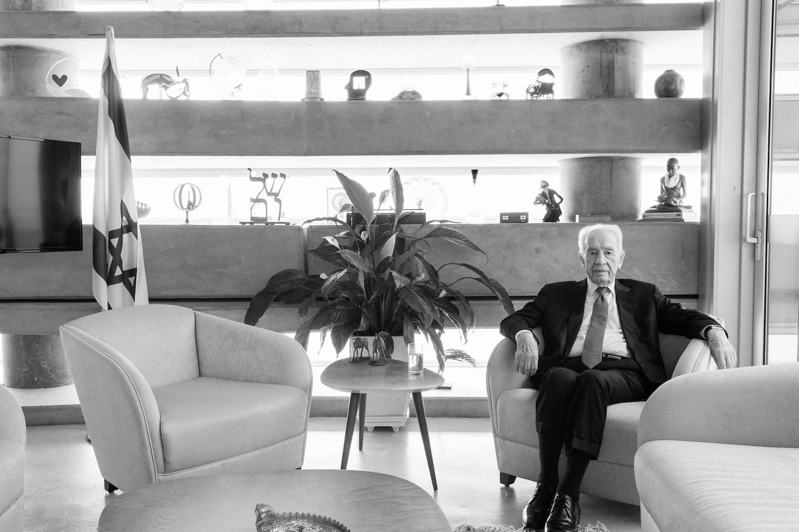 Shimon Peres, ehemaliger Staatspräsident und Friedensnobelpreisträger
