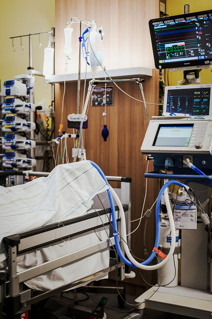 Verstorbene Patientin