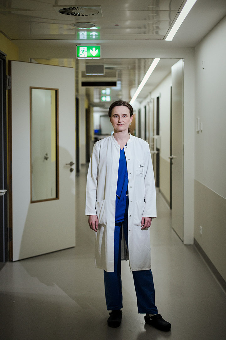 Dr. Franziska Scheibe, Ärztin