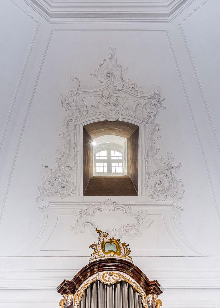 Interior der Ev.- Luth.-Kirche