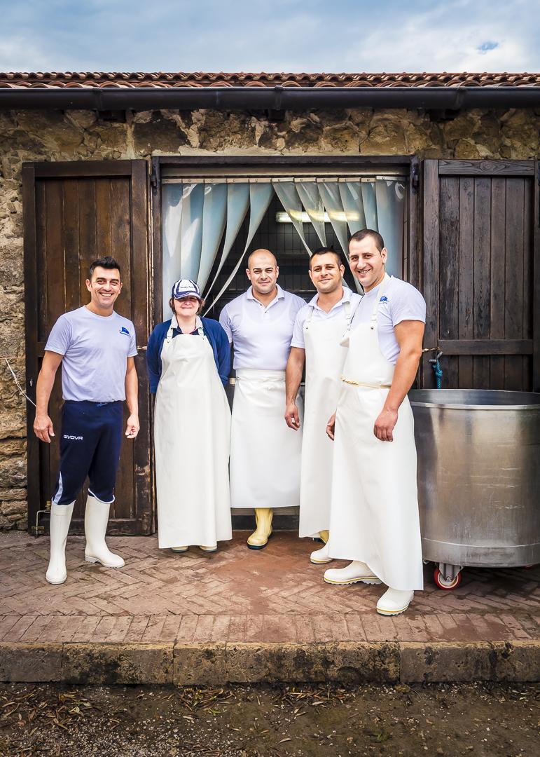 Mitarbeiter, Masseria Lupata