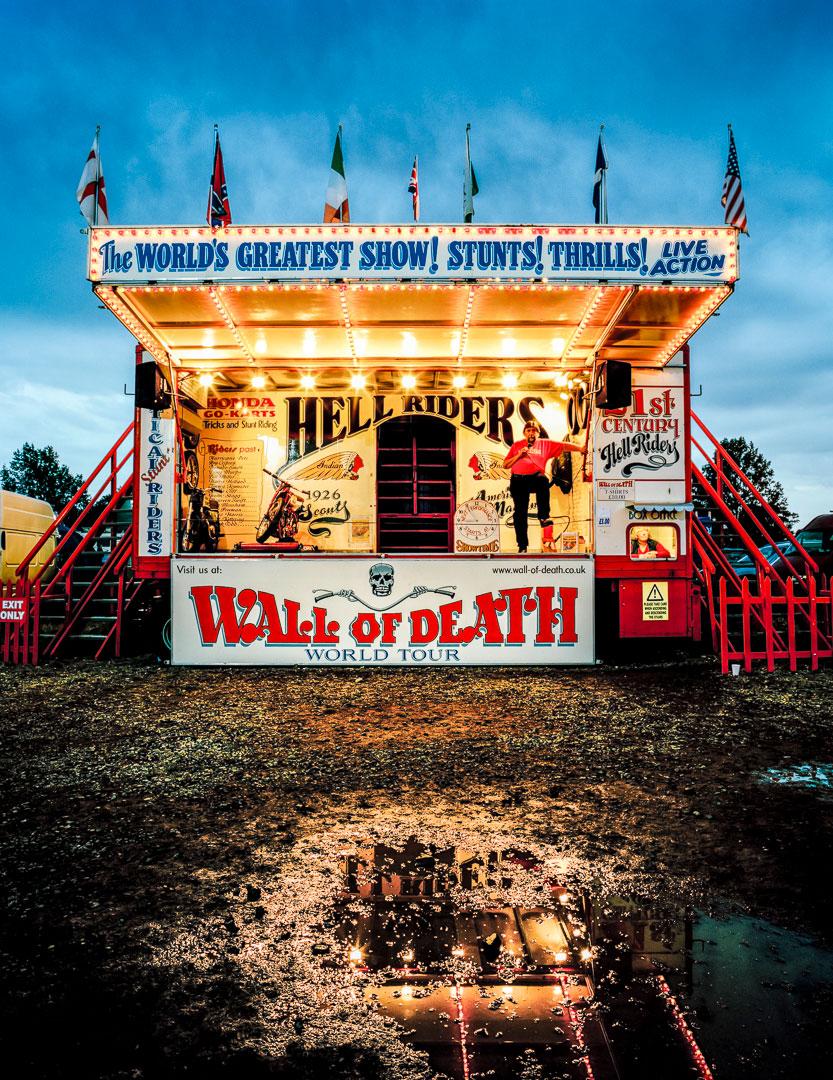 Ken Fox Troupe Wall of Death