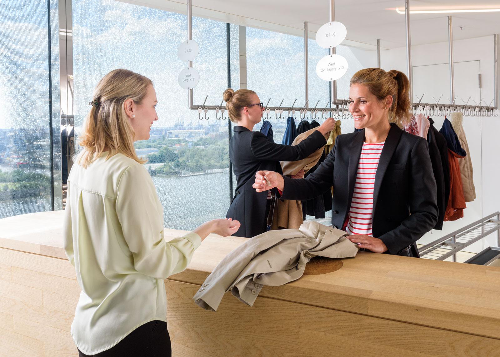 Elbphilharmonie, Mitarbeitergewinnung – eventteam GmbH