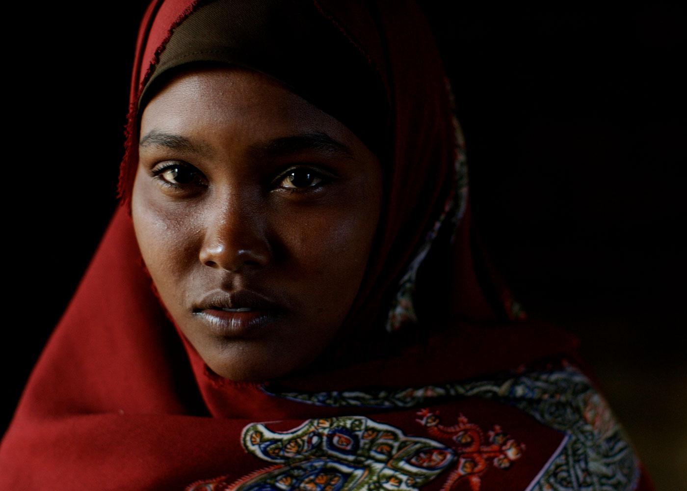 Hoba Hassan Medow, Flüchtling aus Somalia © Guy Calaf