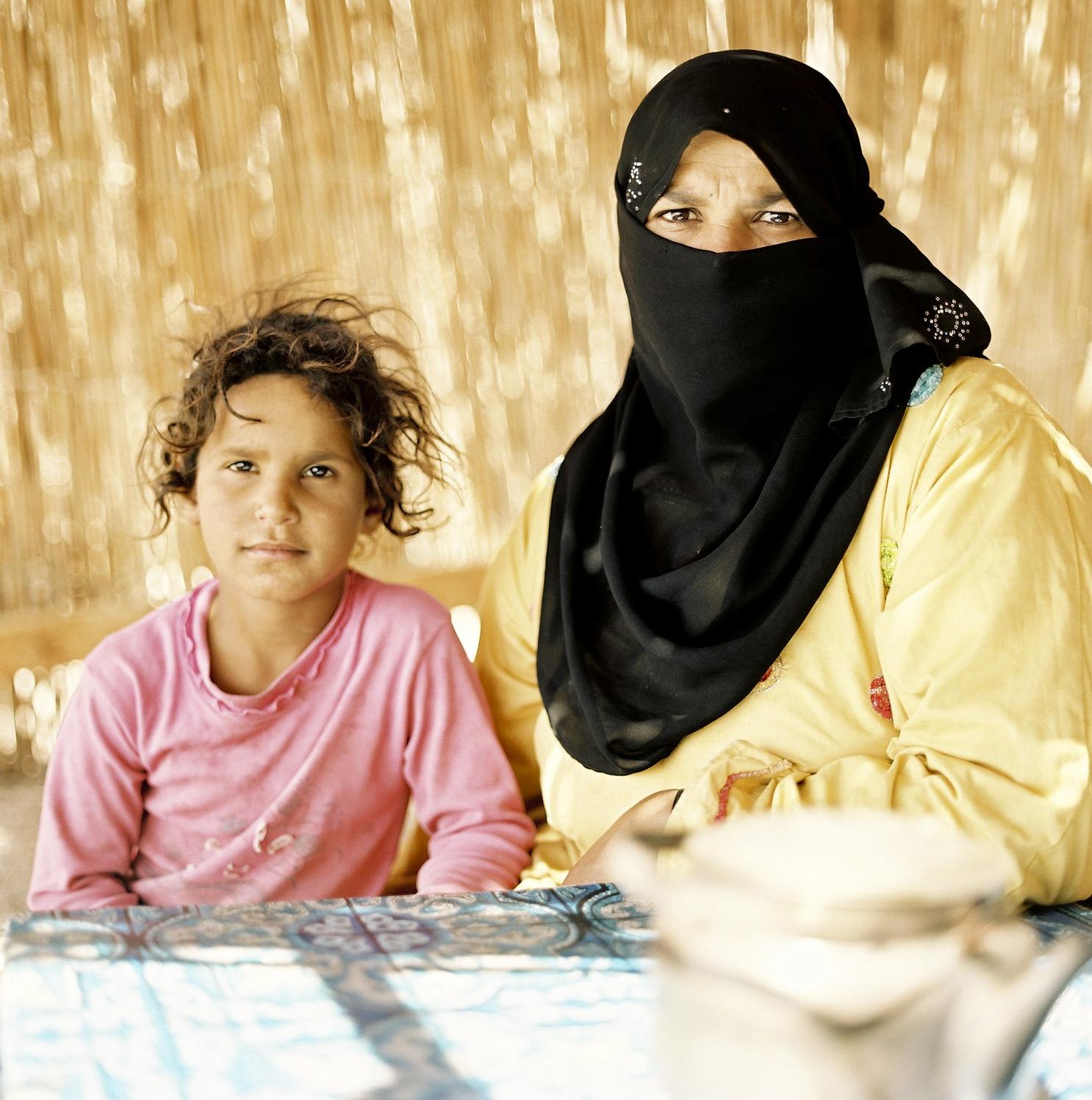 Im Beduinendorf Abu Galum, Sinai